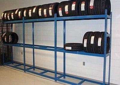 tire rack shelving