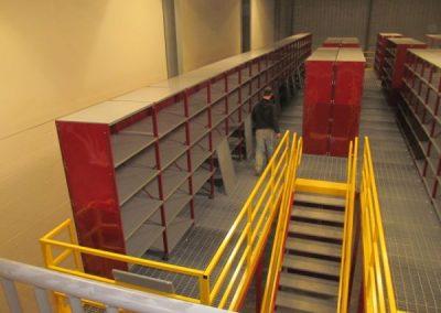 second floor mezzanine