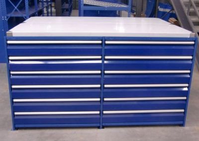 blue drawers