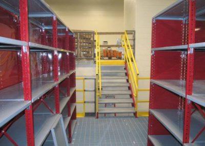 mini stairs to third floor