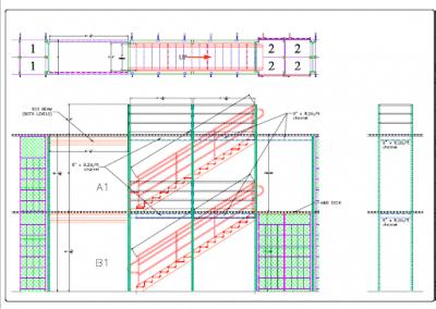 Floor plans for mezzanine